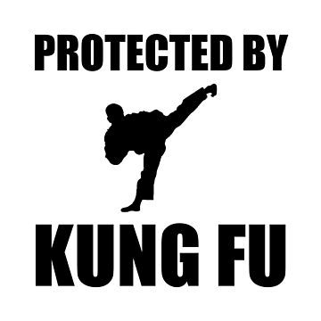 Protected By Kung Fu Funny Martial Arts by TheBestStore