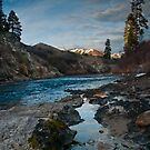 South Fork, Payette River, Idaho by Albert Dickson