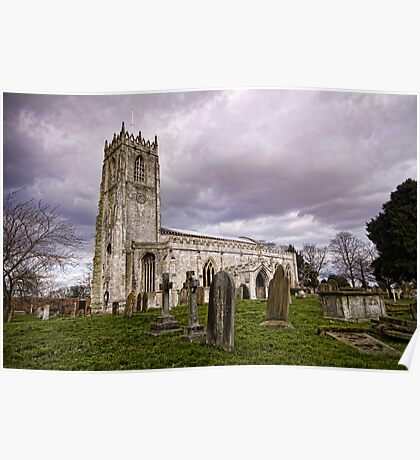 Church of St. Mary and St. Martin. At Blyth Poster
