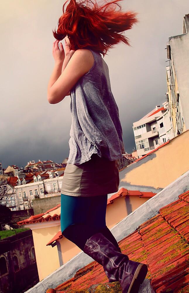 lisboa's roofs by Darta Veismane