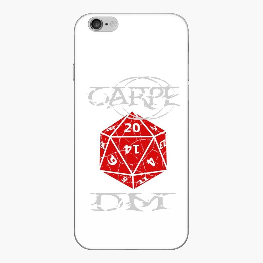 Carpe DM iPhone Skin