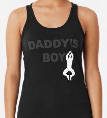 Daddy's Boy (Schwarzer Hintergrund) Tanktop für Frauen
