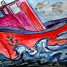 Tugboat Rock by Monica Engeler