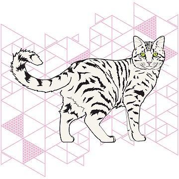 Tabby Cat Power von MichelleEatough
