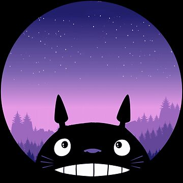 Totoro - Scheibe von mavisshelton