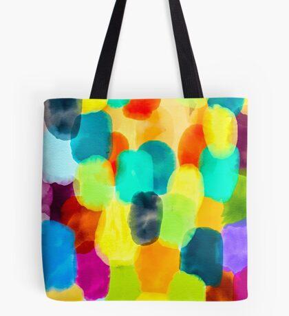 Watercolor Thumbprints Tote Bag