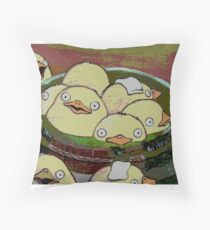 Spirit Ducks? or Chickens? Throw Pillow