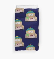 Doctor Who / South Park crossover Duvet Cover