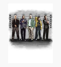 Breaking Bad/ The Usual Suspects (colour) Photographic Print