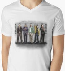 Breaking Bad/ The Usual Suspects (colour) Men's V-Neck T-Shirt