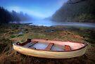Loch Ard Dinghy colour by David Mould