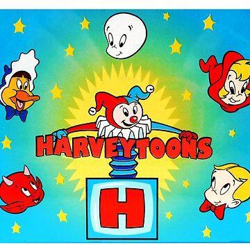 the harveytoons stars by GSunrise