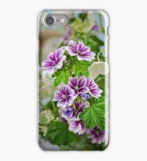 Malva sylvestris iPhone Case/Skin