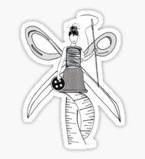 Sewing Angel Sticker