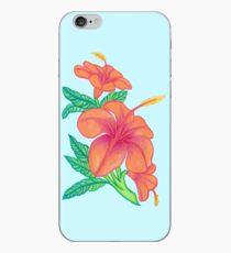 Hibiskusblüten iPhone-Hülle & Cover