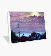 'Sunset over Pamlico Sound' Laptop Skin