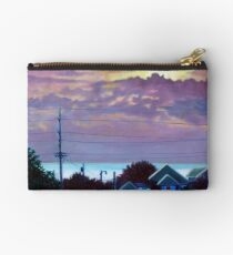 'Sunset over Pamlico Sound' Studio Pouch