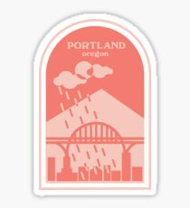 FREMONT BRIDGE PORTLAND  Sticker