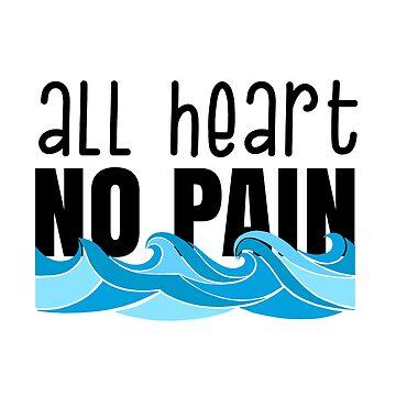 Todo el corazón sin dolor nadando de abbyconnellyy