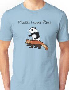 Pandas and Red Pandas Gonna Pand Unisex T-Shirt