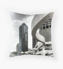 Riverside Architecture, Brisbane, Australia Throw Pillow