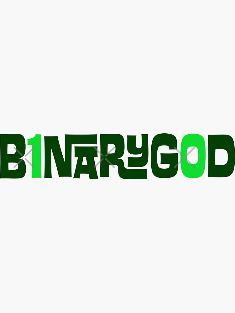 BinaryGod Retro Logo by binarygod