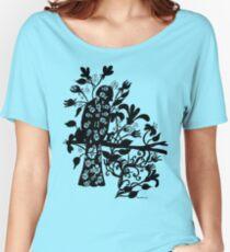 queen black bird  Women's Relaxed Fit T-Shirt