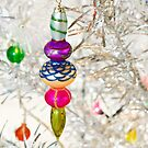 Vintage Christmas Decoration by Tracy Riddell