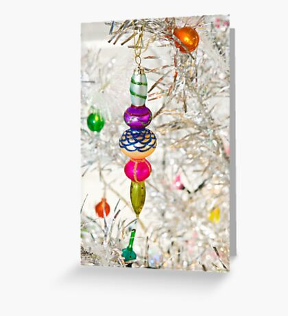 Vintage Christmas Decoration Greeting Card