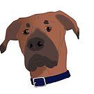 Otis the Dog by MadEyes