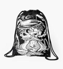 Pennyroyal Teaparty Drawstring Bag