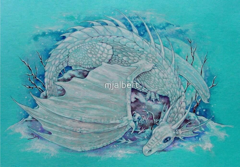Winter Dragon by mjalbert