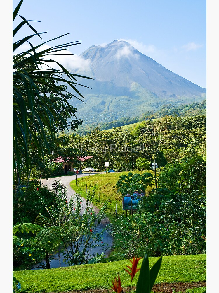 Pathway to Arenal Volcano by taos