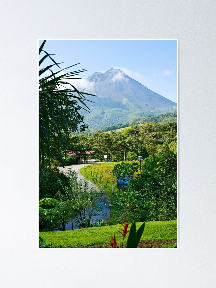 Alternate view of Pathway to Arenal Volcano Poster