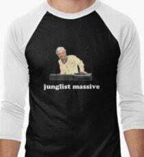 Junglist Massive Men's Baseball ¾ T-Shirt