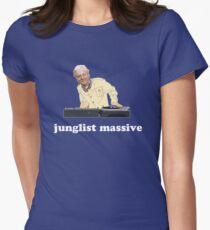 Junglist Massive Women's Fitted T-Shirt