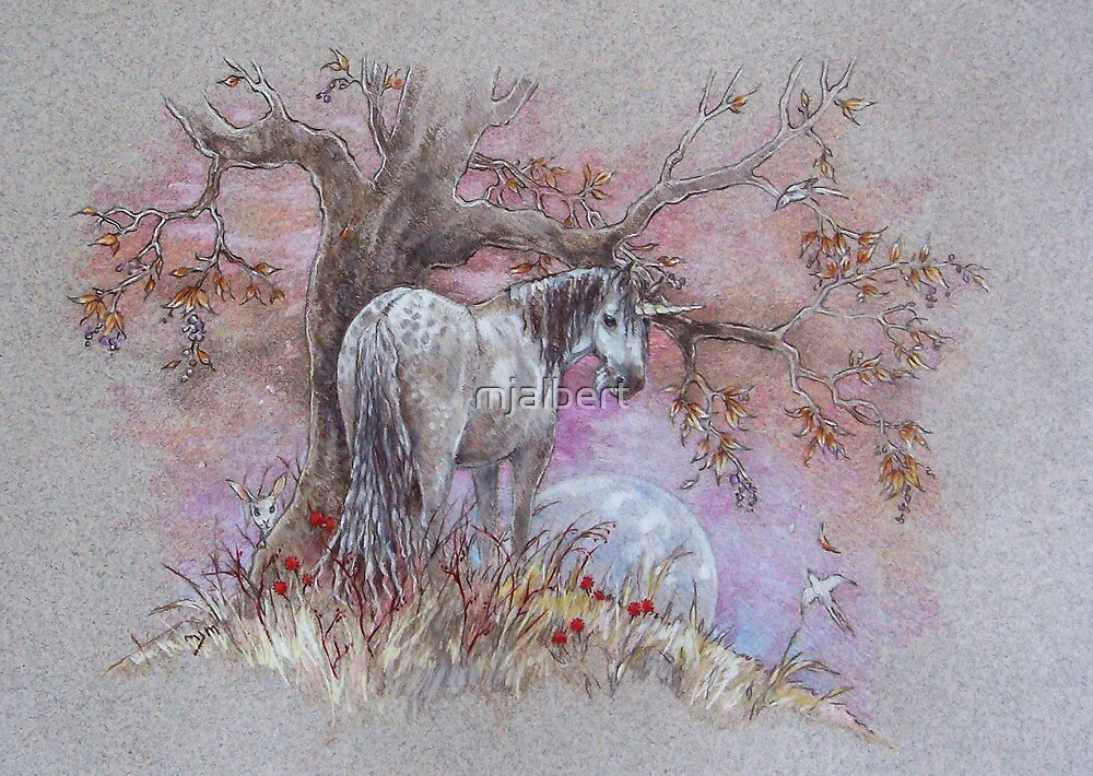 Unicorn - Dappled Mare by mjalbert