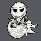 Skeleton Grin by jjlockhART