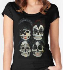 Killer Kiss  Women's Fitted Scoop T-Shirt