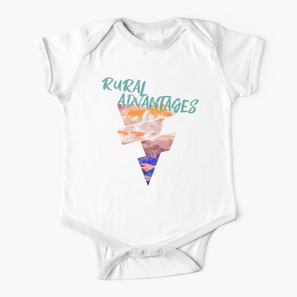 Rural Abstract Baby One-Piece