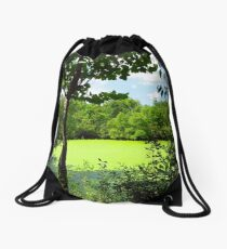 Sheldon Marsh Algae Pond Drawstring Bag