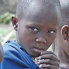 Maasai Boy, Tanzania, Africa by Adrian Paul