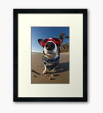 Love Goggles Framed Print