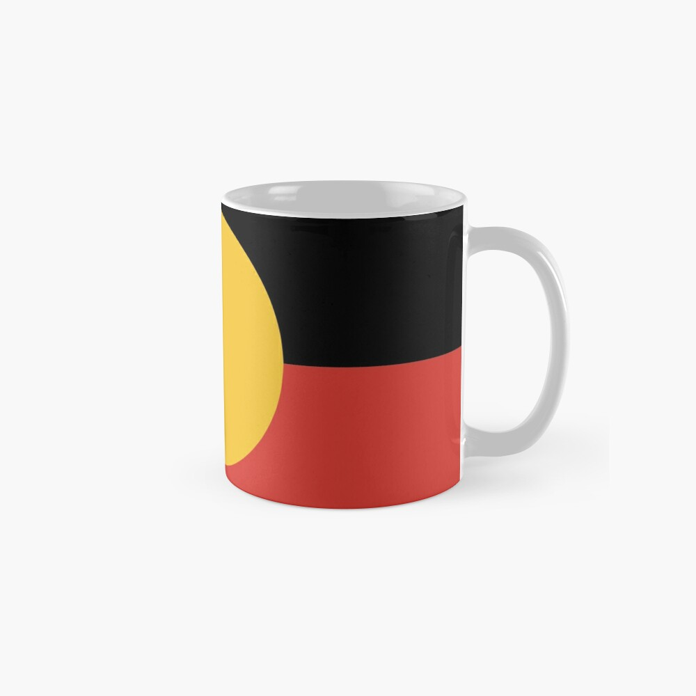Australian Aboriginal Flag Mugs