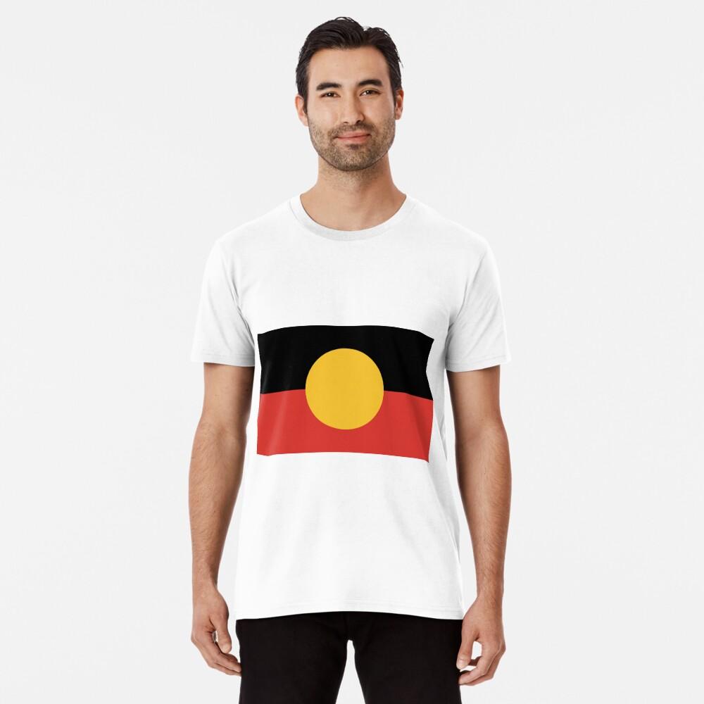 Australian Aboriginal Flag Premium T-Shirt