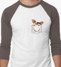 gizmo pocket Men's Baseball ¾ T-Shirt