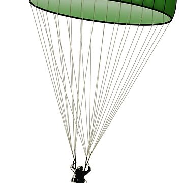 Paratrooper in Dropzone by oz10