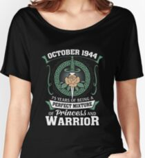 October 1944 Perfect Mixture Of Princess And Warrior Relaxed Fit T-Shirt