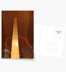 Hexagonal Stairway Postcards