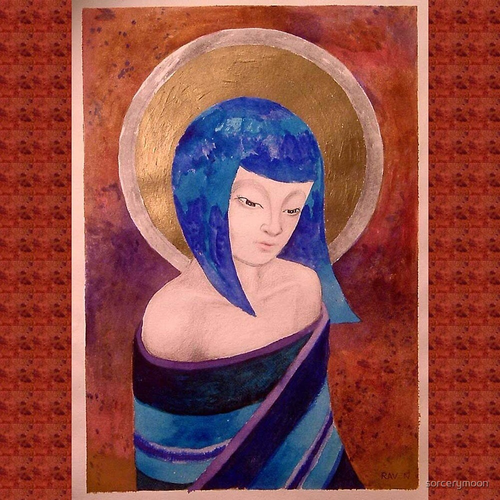 Oriental Madonna by sorcerymoon